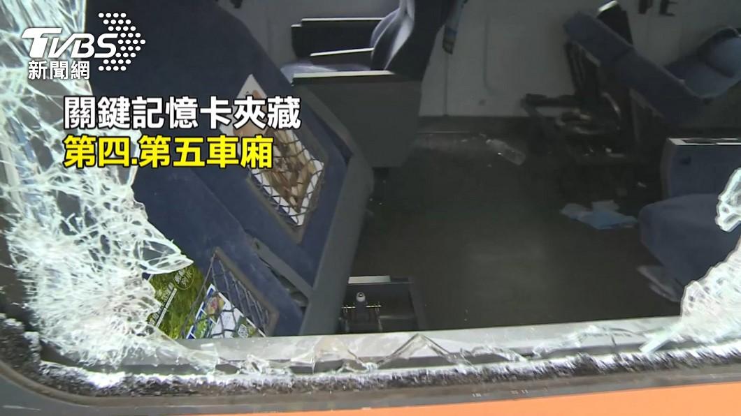 圖/TVBS 老天幫忙!廢墟翻找3天尋獲1公分「記憶卡」