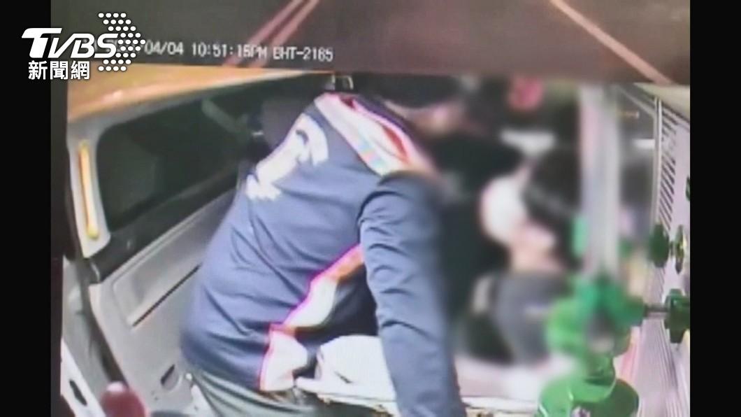 (圖/TVBS) 酒醉男失控毆打救護員 雲縣消防局力挺提告