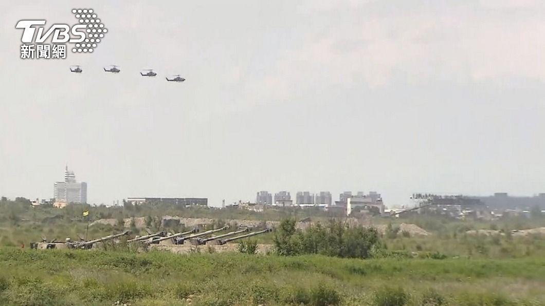 (圖/TVBS資料畫面) 漢光演習7月實兵操演 驗證佳冬戰備道戰機起降