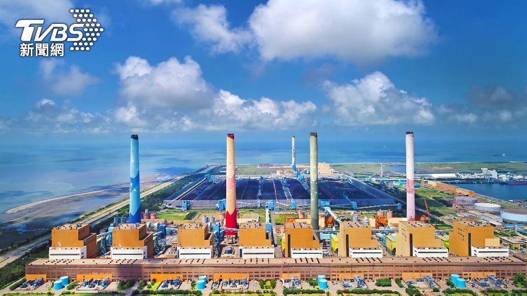 (圖/中央社) 中市府罰台電2千萬 環保署籲回歸空污改善