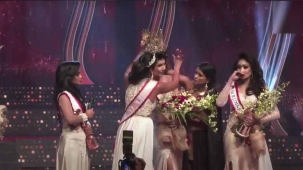 圖/翻攝自Danu Innasithamby youtube 遭誤解已離婚 「斯里蘭卡小姐」被烏龍摘冠