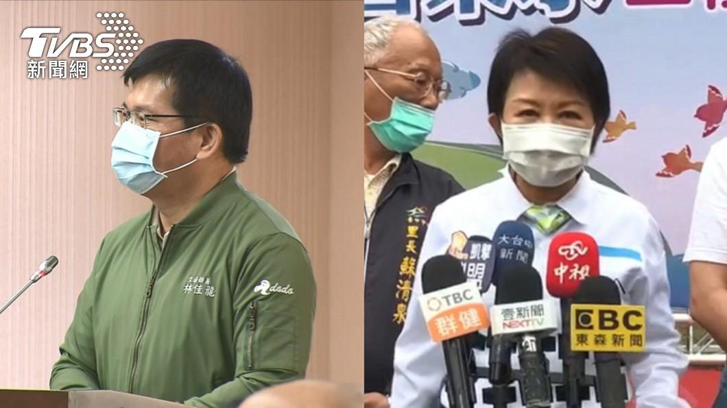 林佳龍已經遞出書面辭呈。(圖/TVBS) 太魯閣案下台究責? 盧秀燕:不該林佳龍1人善後