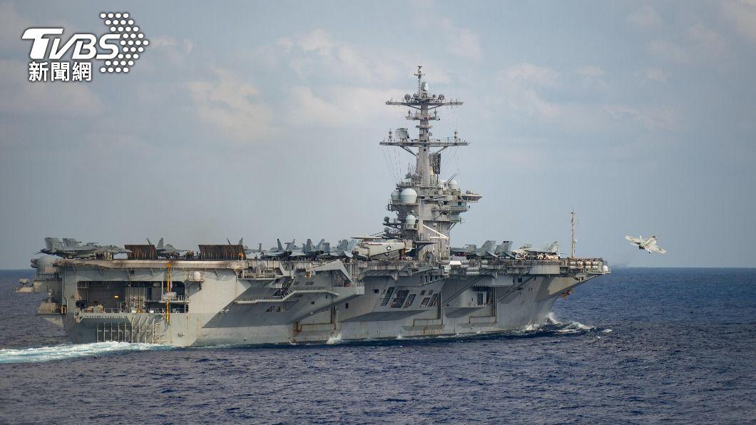 美馬侃號今通過台海 「羅斯福號」航母駛入南海