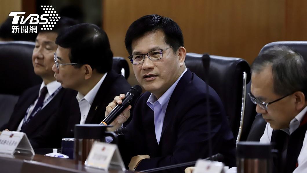 交通部長林佳龍。(圖/中央社資料照) 林佳龍遞辭呈下一步? 政院:現在先不談