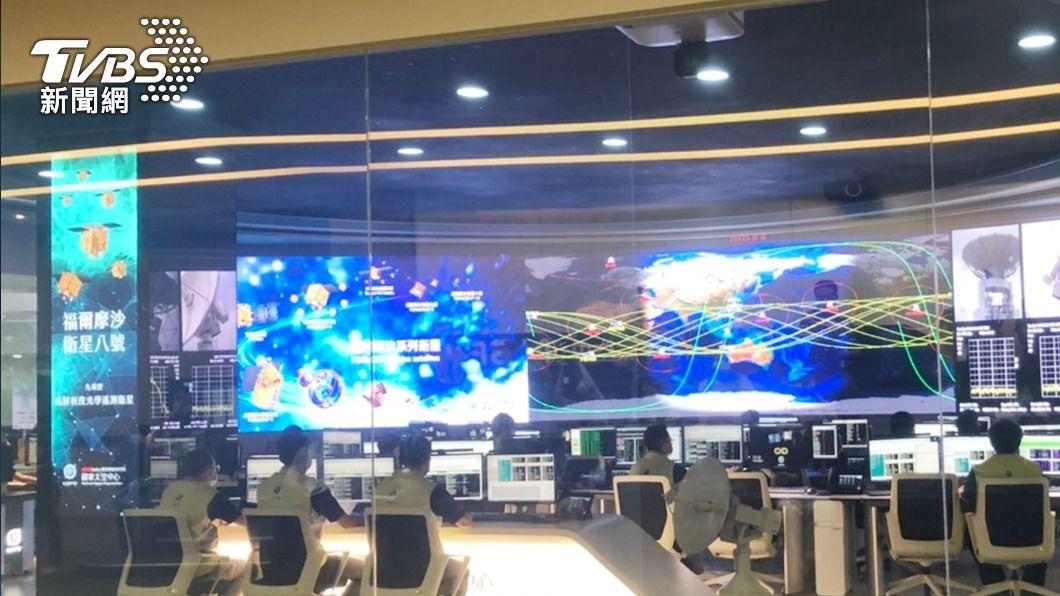 圖為衛星操控中心。(圖/中央社) 衛星對天氣預報貢獻度 鄭明典:福衛七號相當突出