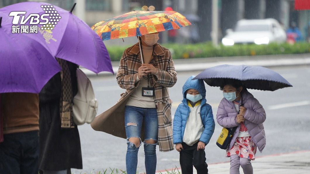 (圖/中央社) 降雨集中北部、東部 桃園以南旱情仍難紓解