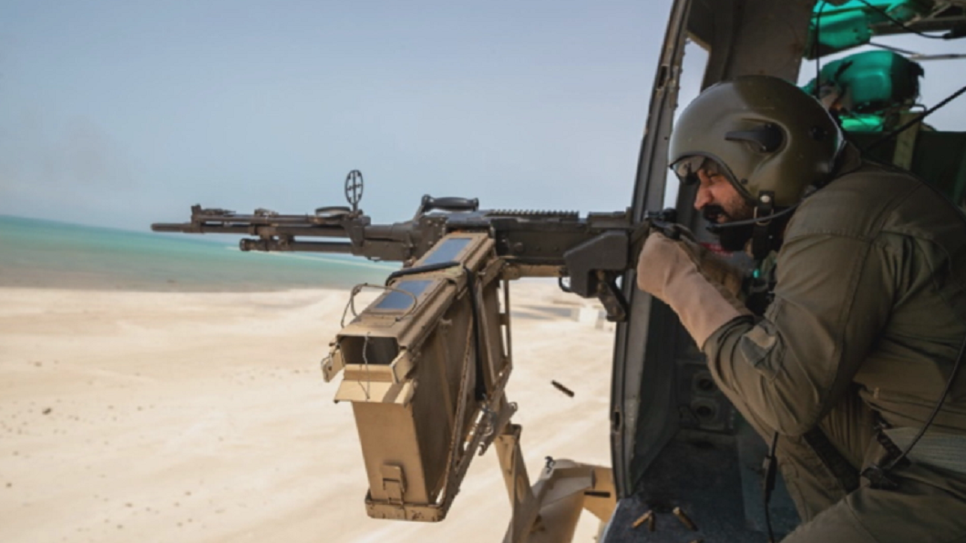 波灣緊張情勢未解 美國、巴林海陸空軍演