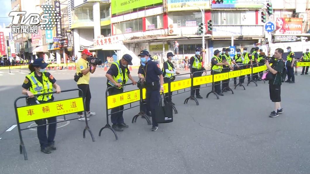 防遶境衝突 彰化300警「民生地下道」備戰