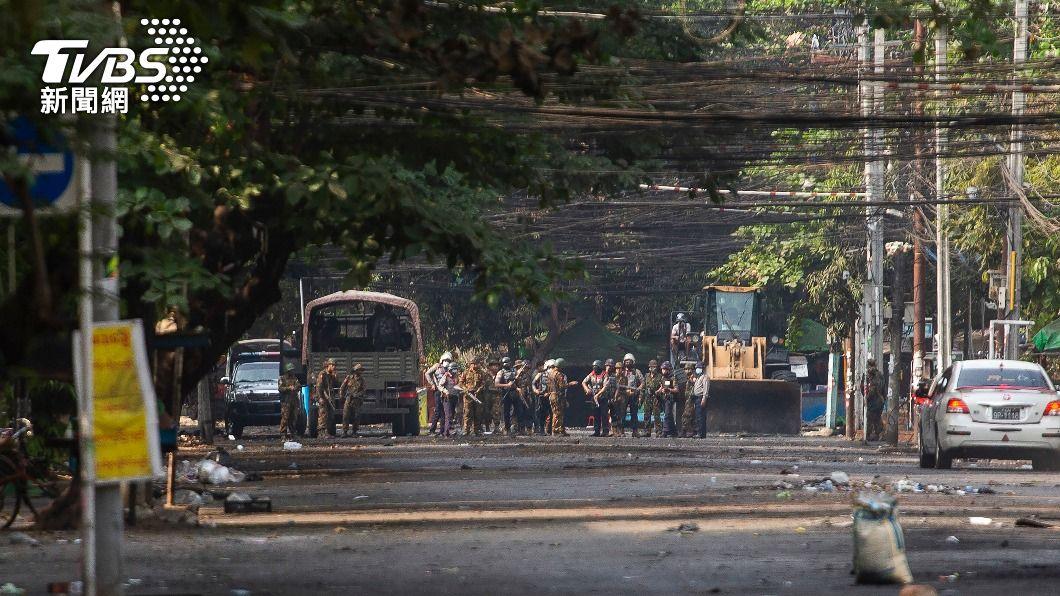 (圖/達志影像美聯社) 美國制裁緬甸國營寶石公司 切斷軍政府資金來源