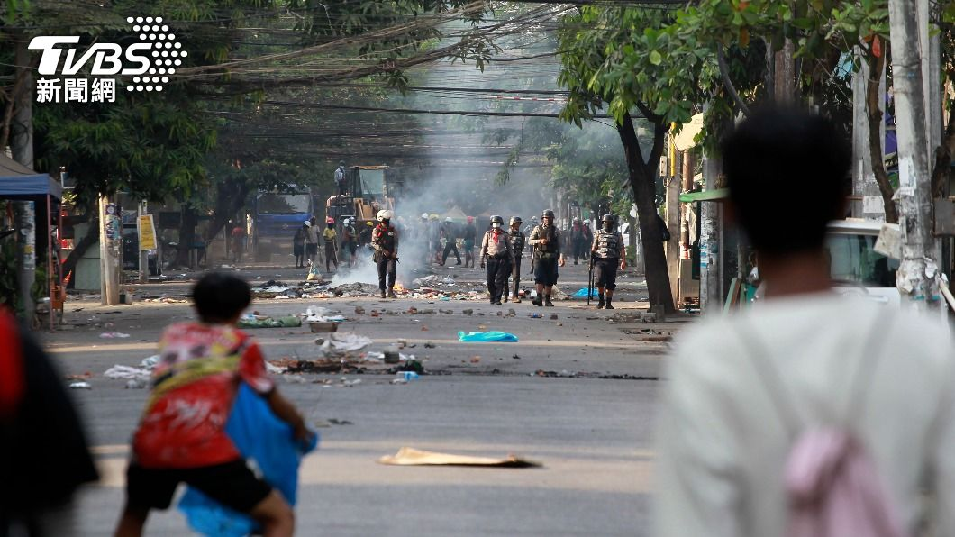 (圖/達志影像美聯社) 聯合國緬甸特使亞洲行 仍遭緬軍政府拒於門外