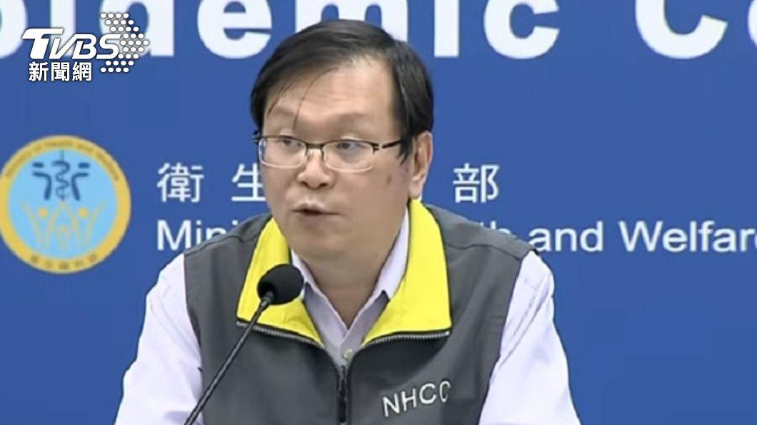 中央流行疫情指揮中心發言人莊人祥。(圖/TVBS) 新增2例境外移入 2移工自印尼及菲律賓入境