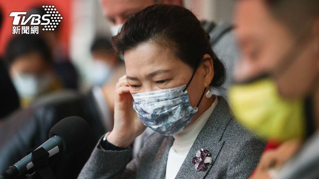經濟部長王美花表示開放進口含有萊劑的豬肉,均屬安全含量。(圖/中央社) 美關切反萊豬 王美花:加入國際社會要用國際標準