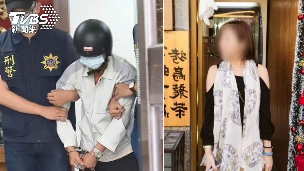 男子疑似追求女電信業者不成殺害對方。(圖/TVBS) 屏東人妻遭擄殺 禮儀師解屍袋見「好友遺體」崩潰
