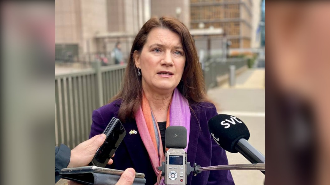 瑞典外交部長林德。(圖/翻攝自Ann Linde臉書) 瑞典在野黨提驅逐陸大使要求 當國外長表態拒絕