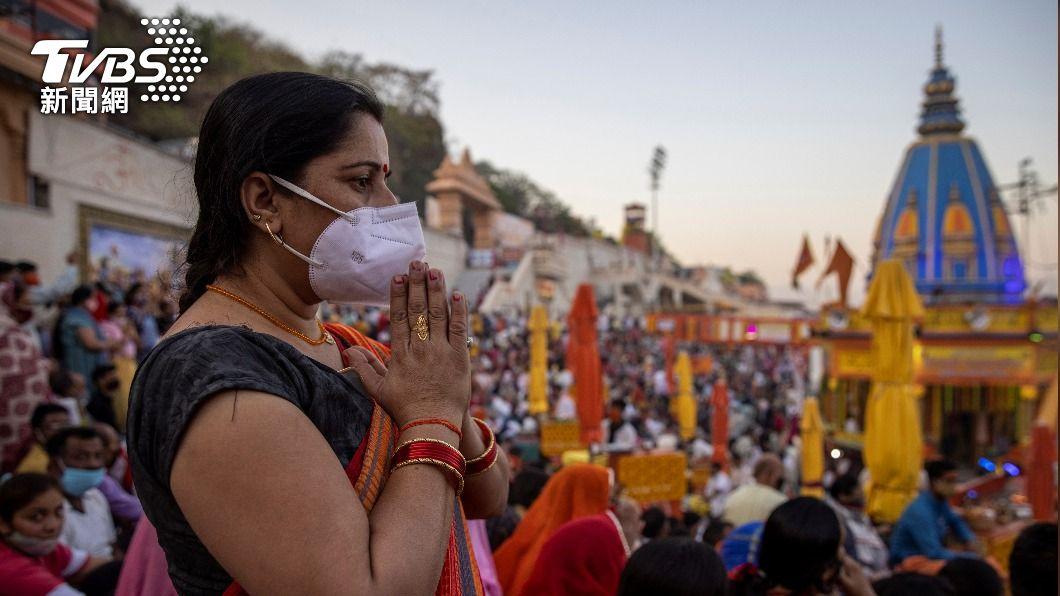 印度新增逾14萬人確診。(圖/達志影像路透社) 印度新冠單日確診再創新高 日本疫情持續升溫