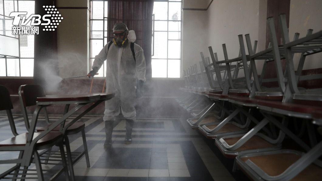 秘魯疫情升溫。(圖/達志影像路透社) 秘魯總統大選前夕 單日染疫病故人數再翻新紀錄