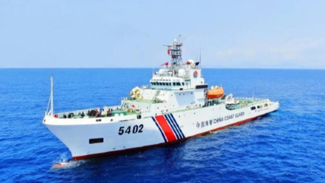 圖/翻攝自深蓝舰队微博 從菲律賓到日本 討海人拍大陸海警船惡行