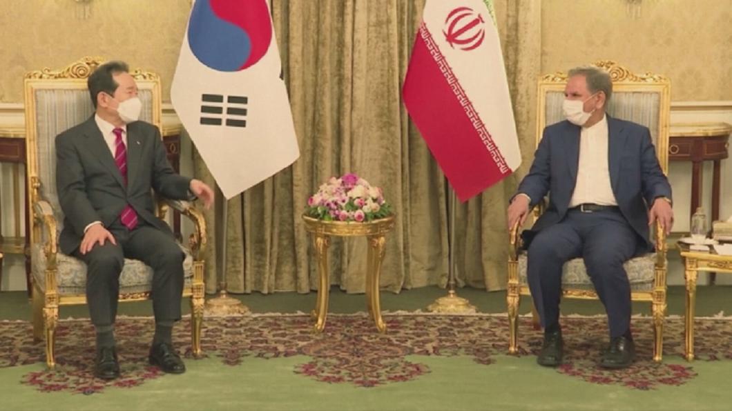 南韓總理44年來首訪伊朗 伊朗籲南韓盡快解凍伊在韓資金