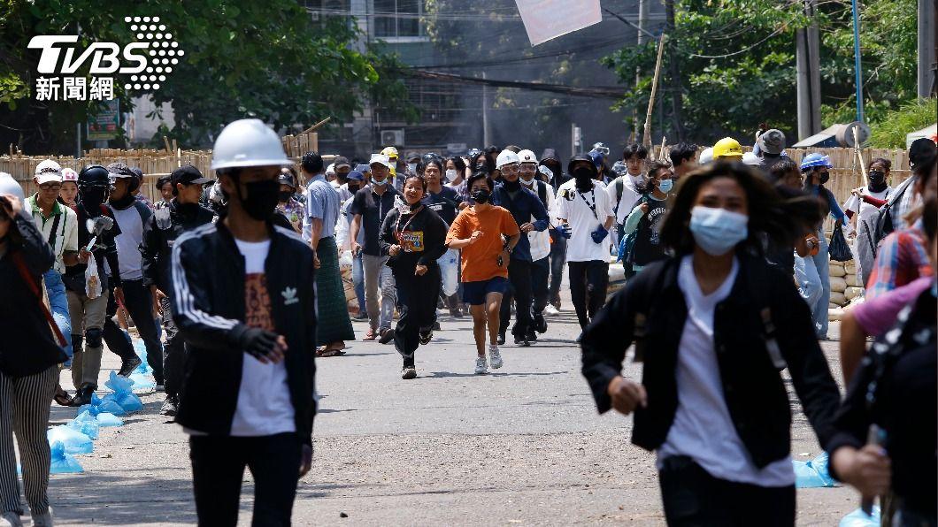 (圖/達志影像美聯社) 緬甸逾700平民死 歐盟:中俄阻撓國際因應危機