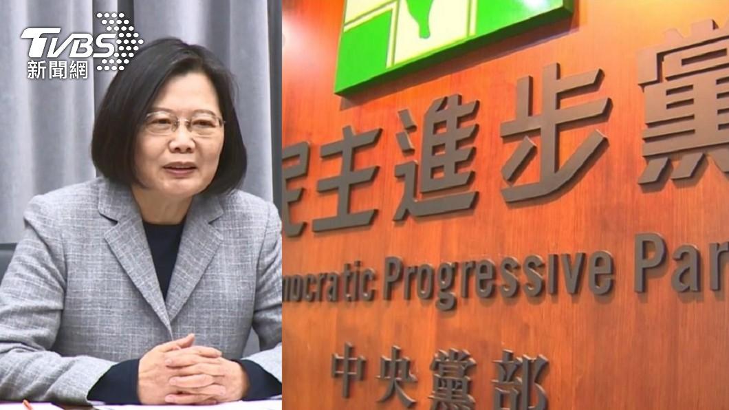 總統蔡英文。(圖/TVBS資料畫面) 跨時空自打臉!民進黨10大雙標作為 網酸爆:台灣價值