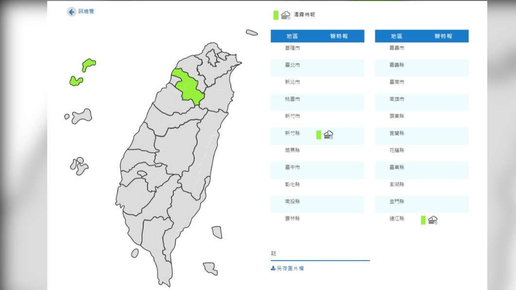 圖/中央氣象局 今晚變天! 白天高溫傍晚轉雨 周三北台狂掉12度