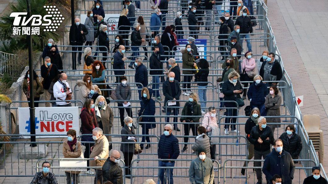 (圖/達志影像路透社) 歐洲疫情跨越暗黑里程碑 病歿人數突破百萬大關