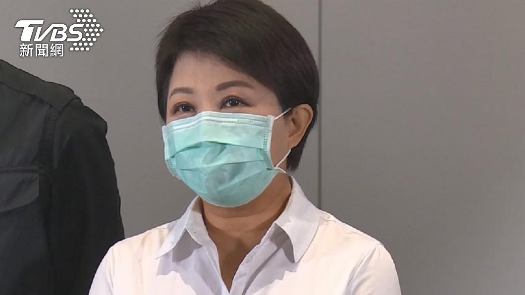 台中市長盧秀燕。(圖/TVBS資料畫面) 盧秀燕打完疫苗狀況好 部分首長發燒發冷、身體不適請假
