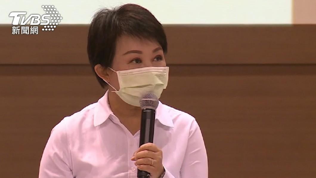 台中市長盧秀燕。(圖/TVBS) 中市供5停2第2週 盧秀燕:盤點3水源助民生用水