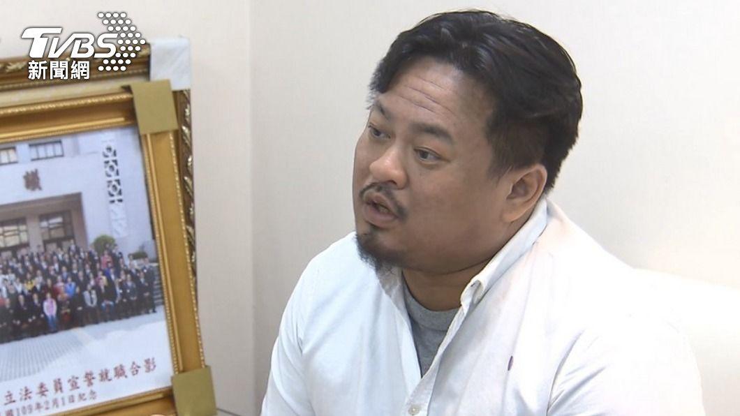 洪申翰被封為赤貧立委。(圖/TVBS資料畫面) 總財產61萬被封「最赤貧立委」 他愣:我有很窮嗎?