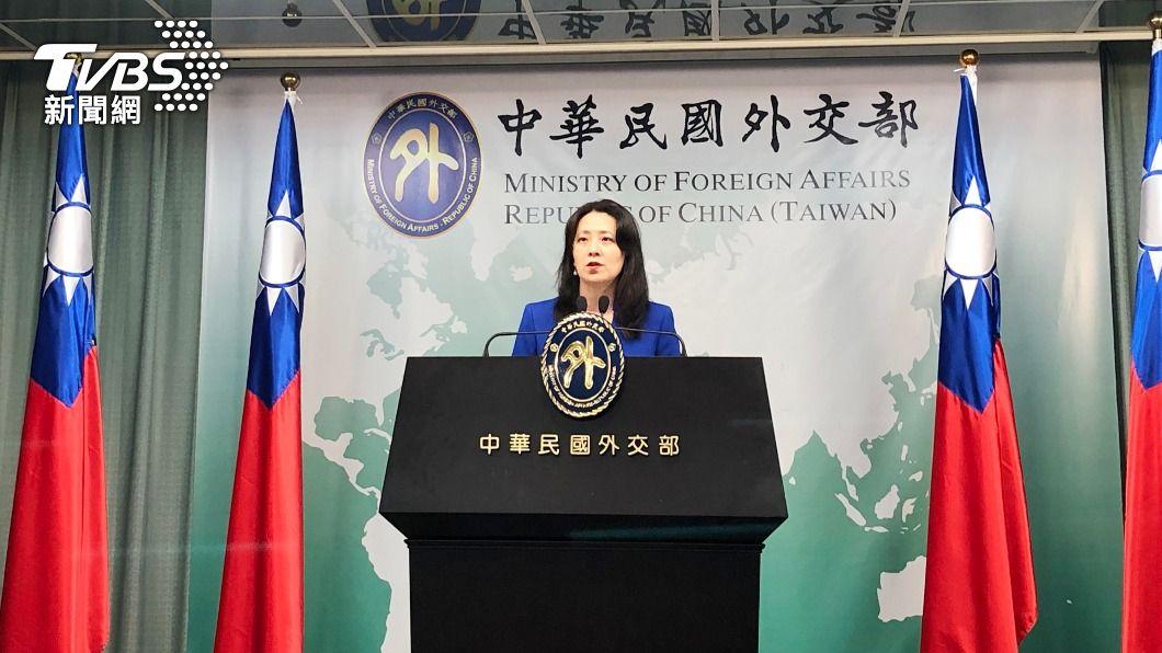 外交部發言人歐江安。(圖/中央社) 福島核廢水2年後排入海 外交部續向日本表達關切