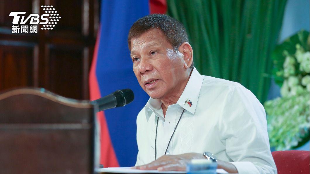 菲律賓總統杜特蒂。(圖/達志影像美聯社) 神隱近兩週引發揣測 杜特蒂公開談話破除謠言