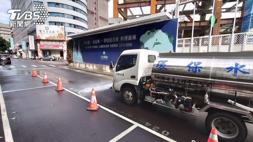 (圖/中央社) 水情吃緊 建設公司攜手科技業把關地下水資源
