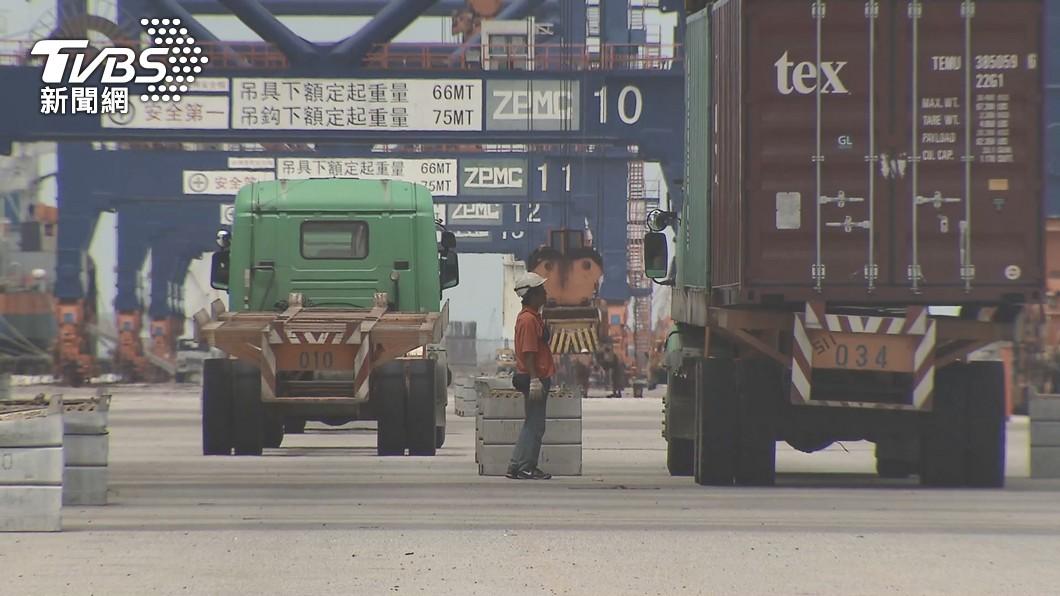 (圖/TVBS) 出口創新高 民進黨:勿扭曲為更加依賴中國經濟