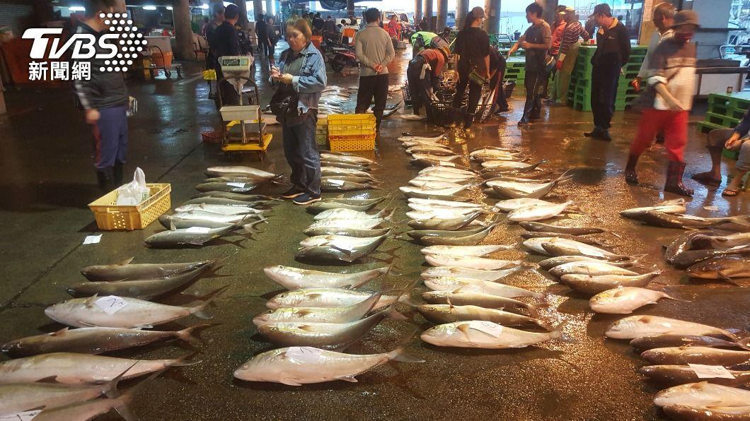 圖為魚市場。(示意圖/中央社) 憂福島核廢水影響漁獲 蘇澳漁民盼政府發聲反對
