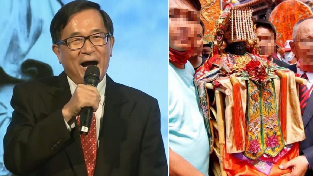 大咖搶拜媽祖 陳水扁:我沒參加照樣當選總統