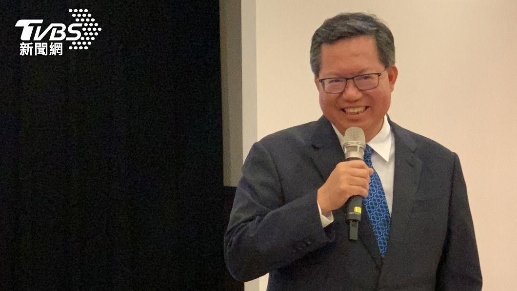 桃園市長鄭文燦。(圖/中央社) 是否參選2024總統? 鄭文燦:不必急著幫我找工作