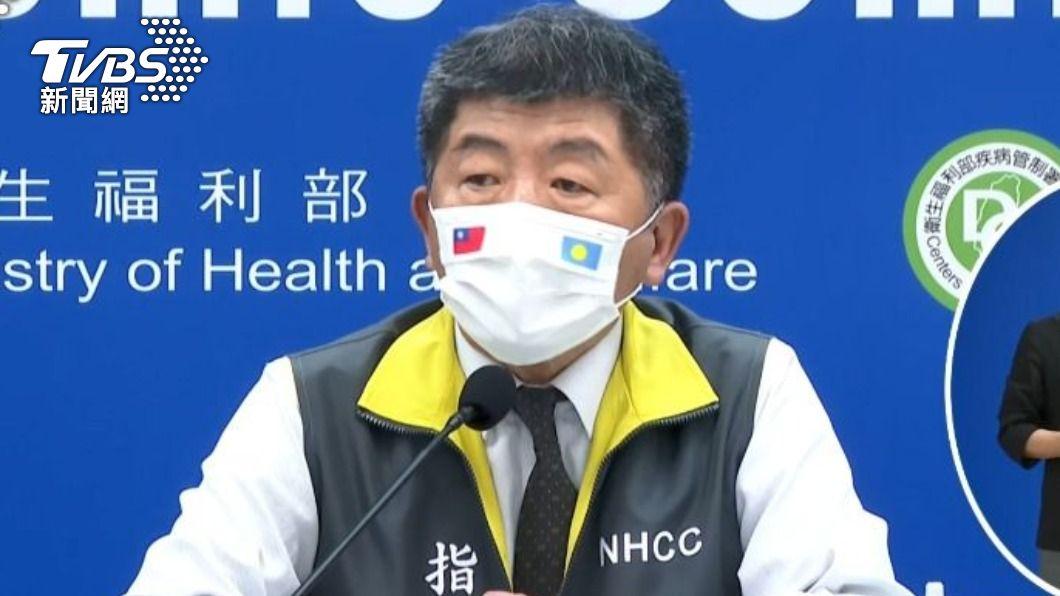 中央流行疫情指揮中心指揮官陳時中。(圖/TVBS) 柬埔寨新冠疫情持續上升 自中低風險國家移除