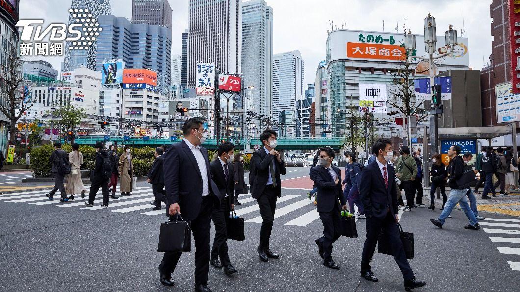 日本疫情再度升溫。(圖/達志影像美聯社) 日本疫情進入第4波確診激增 恐3度發緊急事態宣言