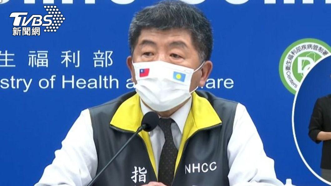 中央流行疫情指揮中心指揮官陳時中。(圖/TVBS) 新增5例境外移入 自菲、俄、英國及加拿大入境