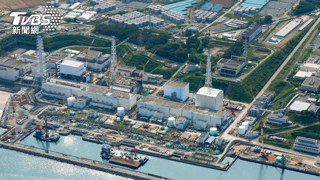 福島第一核電廠。(圖/達志影像路透社) 福島核廢水將排入海遇反彈 日媒:各國也這樣做