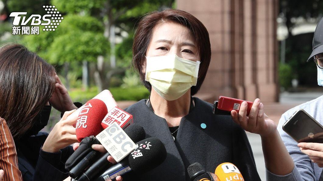 台北市副市長黃珊珊。(圖/中央社) 北市警察局長自請處分 黃珊珊:柯文哲有其他考慮