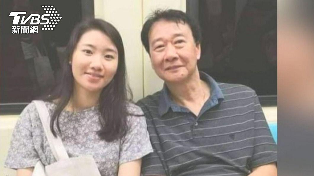 曾以琳與父親合照。(圖/TVBS資料畫面) 台灣留學生遭韓國男子酒駕撞死 妻抵台欲道歉遭婉拒