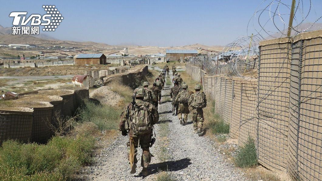 拜登宣布9/11前撤回所有駐阿富汗美軍。(圖/達志影像路透社) 結束美史最長戰爭 拜登:駐阿富汗美軍9/11前全撤離