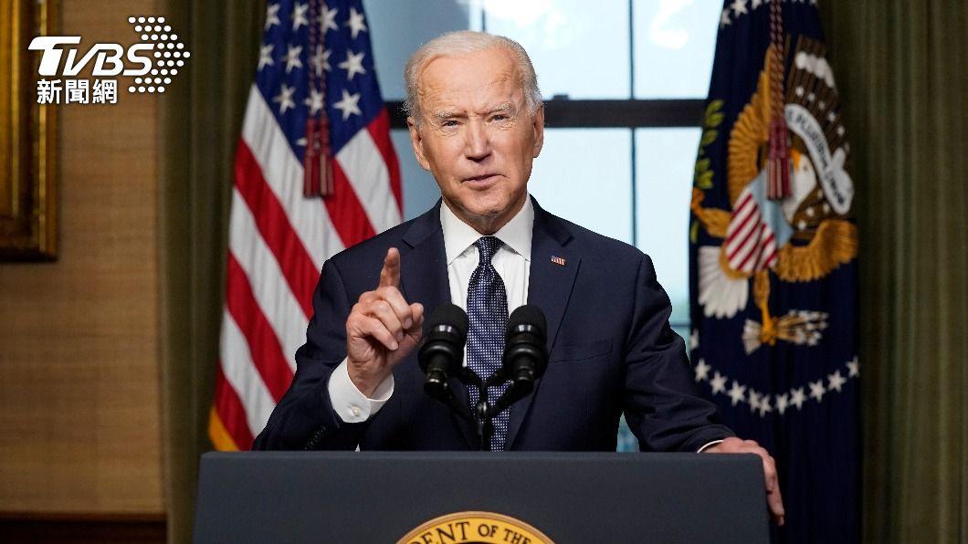 美國總統拜登。(圖/達志影像美聯社) 拜登致電阿富汗總統 撤軍後建立穩固雙邊關係