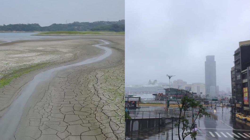 基隆被稱作「雨都」。(圖/TVBS、翻攝自「爆廢1公社」) 中南部陷乾旱 基隆人「除濕機一天倒5桶」:不懂缺水