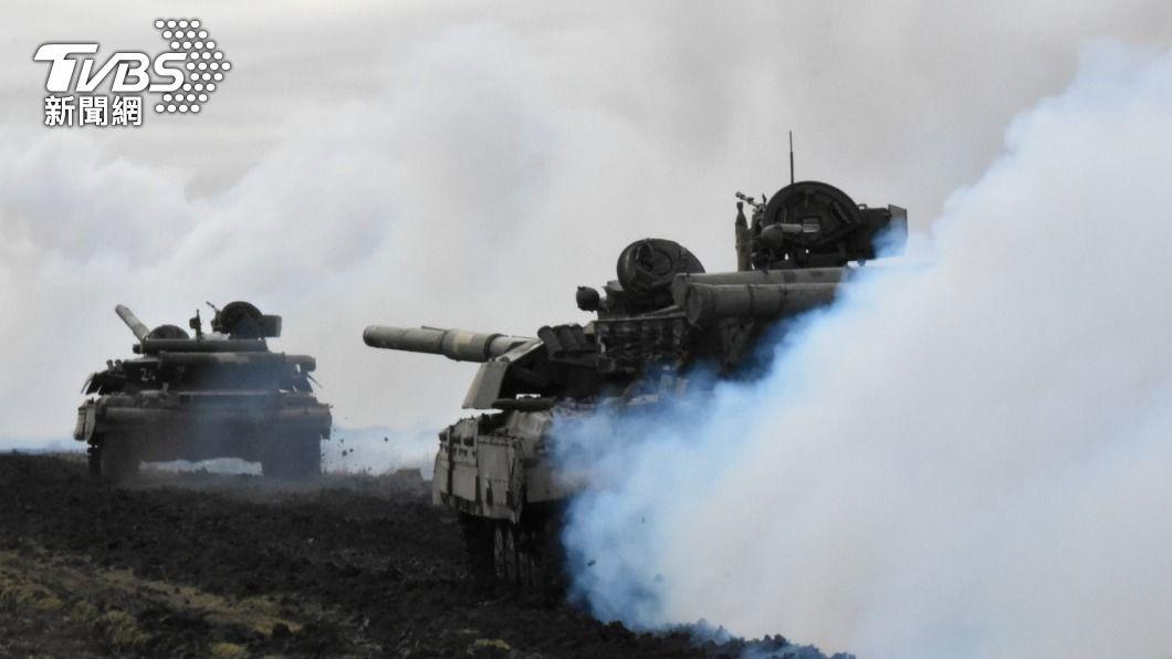 俄羅斯、烏克蘭邊境局勢升溫。(圖/達志影像路透社) 烏俄邊境緊張 外媒:美國取消對黑海部署軍艦