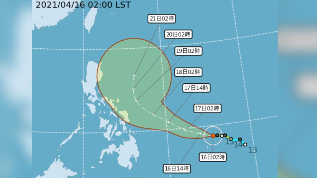圖/中央氣象局 今北部東部偶雨 舒力基恐成強颱卻無助紓旱