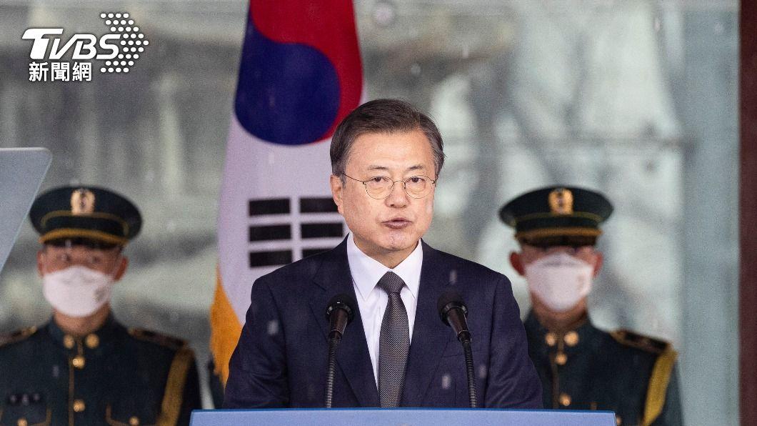 南韓總統文在寅將於5月下半月訪問美國。(圖/達志影像路透社) 繼日本首相之後 白宮宣布南韓總統5月訪美會談