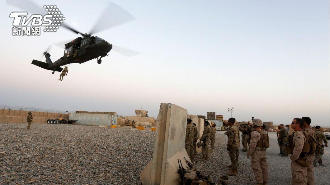 美國宣布9/11前從阿富汗撤軍。(圖/達志影像路透社) 印度憂美國北約自阿富汗撤軍 為破壞者留下空間