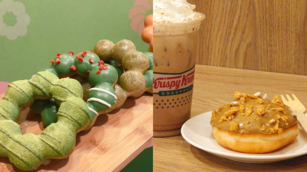 知名甜甜圈店推出超殺優惠。(圖/翻攝自Mister Donut、Krispy Kreme臉書) 限時3天超狂優惠!Mister Donut全品項「買5送5」